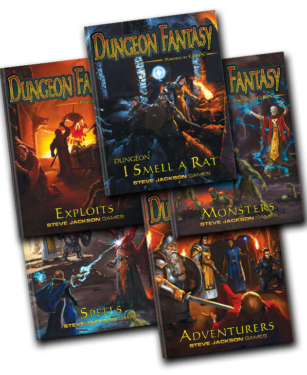 Dungeon Fantasy Roleplaying Game - Powered by GURPS - Steve