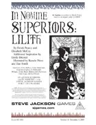In Nomine Superiors: Lilith