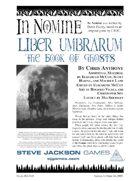 In Nomine: Liber Umbrarum