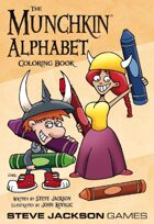 The Munchkin Alphabet Coloring Book