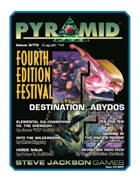 Pyramid #3/070: Fourth Edition Festival