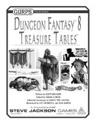 GURPS Dungeon Fantasy 08: Treasure Tables