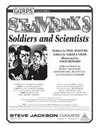 GURPS Steampunk 3: Soldiers and Scientists