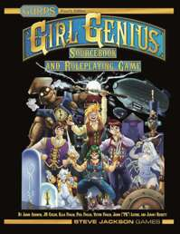 Girl Genius Sourcebook and Roleplaying Game (Prerelease Edition)