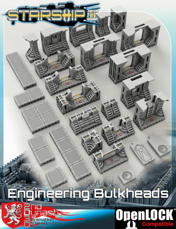 Starship Ii 3d Printable Openlock Deck Plans