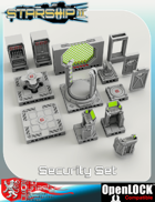Starship II Deck Plans - Security