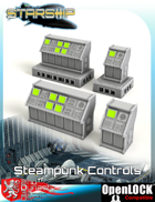 Starship Steampunk Controls