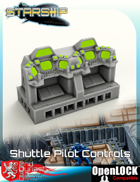 Starship Shuttle Pilot Controls