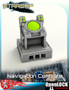 Starship Bridge Navigation Controls