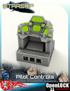 Starship Bridge Pilot Controls