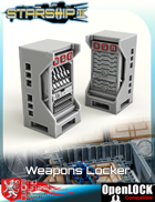 Starship II Weapons Locker