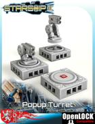Starship II Popup Turret