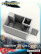 Starship Narrow Single Cabin