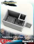 Starship Narrow Double Cabin