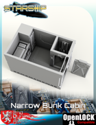 Starship Narrow Bunk Cabin