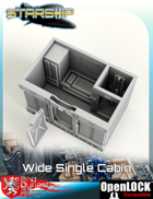 Starship Wide Single Cabin