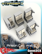 Starship II Prison Cell Walls