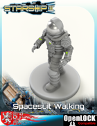 Spacesuit, Walking
