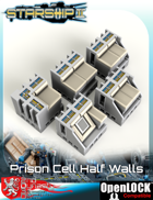 Starship II Prison Cell Half Walls