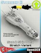 Scout Ship Beta Stretch Variant