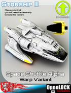 Space Shuttle Alpha Warp Variant