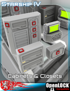 Cabinets and Closets