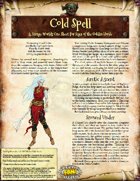 Saga of the Goblin Horde: Cold Spell (Savage Worlds)