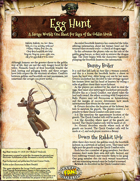 Saga of the Goblin Horde: Egg Hunt (Savage Worlds)