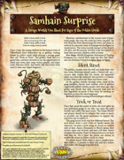 Saga of the Goblin Horde: Samhain Surprise (Savage Worlds)