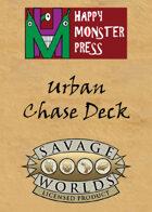 Savage Worlds Urban Chase Deck