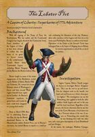 The Lobster Plot: A Legion of Liberty Adventure
