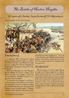 The Battle of Harlem Heights: A Legion of Liberty Adventure