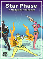Star Phase module for Henshin!: A Sentai RPG