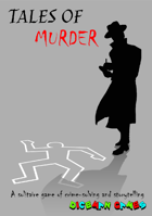 Tales of Murder: A Solitaire-Friendly Game of Mystery