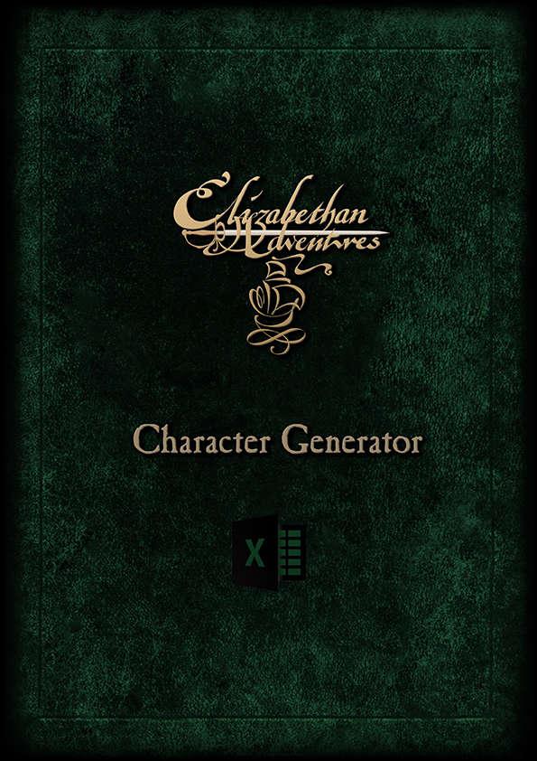 Elizabethan Adventures: Character Generator - Matthew Wallhead