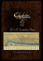 Elizabethan Adventures: London Map