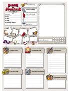 Handbok för Superhjältar - rollspelet: Rollformulär