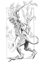 Spliced Druid, 5e Monster, Hildy's Twisted Arcana