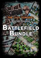 Western Kingdom - 3D Battlefield Bundle