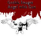 Gothic Art: Angel with Gun