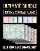 Ultimate Bundle: Combat Cards Full Set (5E)