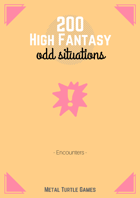 200 High Fantasy Odd Situations