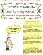 ACTIVE CHARISMA and its many names