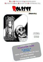 ROLISTE English Edition