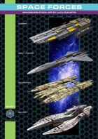 Space Forces Volume 1 stockart