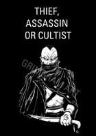 Clipart Villain & Monsters - Thief, Assassin or Cultist