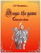 Saga: the Game Character Sheets ytr