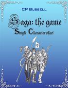 Saga: the Game Character Sheet