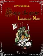 Saga: the Game Loremaster Notes rtb