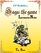 Saga: the Game Loremaster Notes wtg